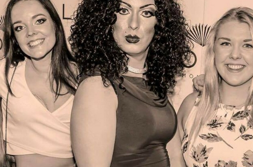 Lucy Lashes drag queen shows ireland